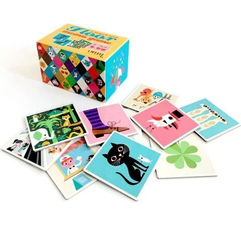 Disposable Custom Card Printing Children Game Playing Cards UV Varnish