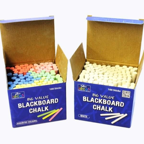 School Chalk Paper Packaging Box , Recyclable CMYK Small Paper Boxes